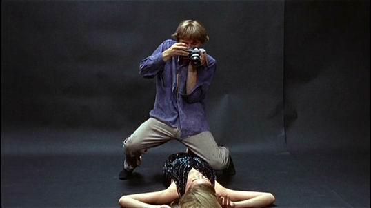 M. Antonioni filmo Blow-up kadras