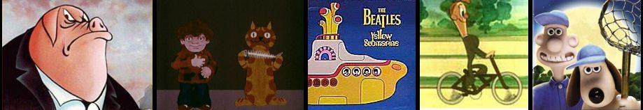 Didžiojoje Britanijoje sukurti animaciniai filmai