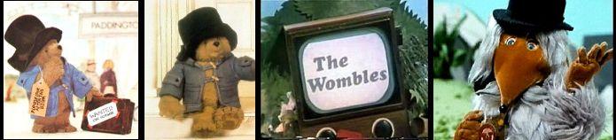 Ivor  Wood. Paddington (1976-1987), The  Wombles (1973)