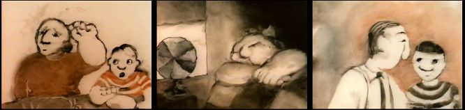 Tapyba ant stiklo: Caroline Leaf. The Street (1976)