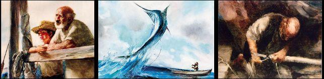 Tapyba ant stiklo: Aleksandras Petrovas. Senis ir jūra (1999)