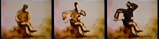 Smėlio barstymas: Ferenc Cakó. Pelenai (1994)